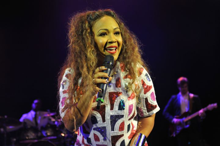 Annastasia Baker Performs At O2 Shepherds Bush Empire In London