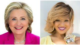 Hillary Clinton & Erica Campbell