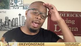 Kev On Stage