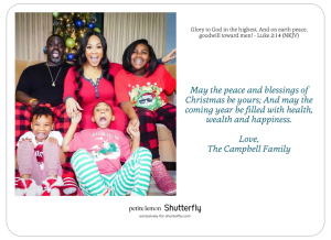 The Campbell Christmas Card