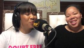 Erica Campbell and Shanta Atkins