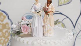 Gay Couple on Wedding Cake