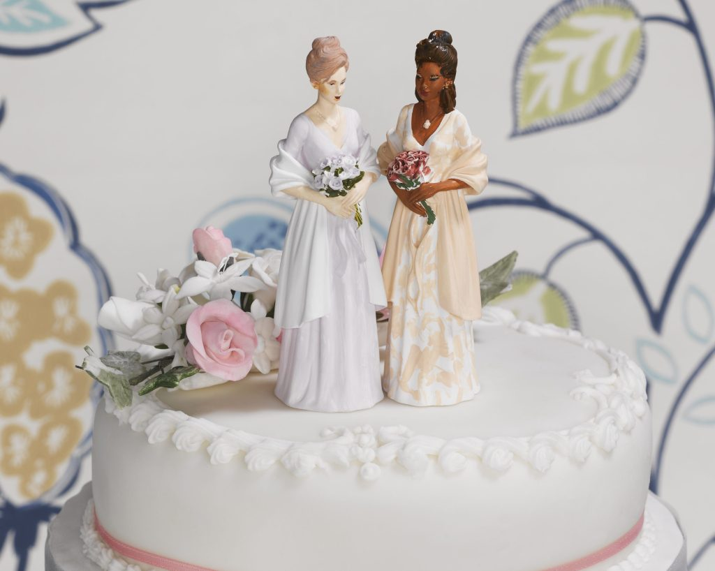 Gay Couple on Wedding Cake