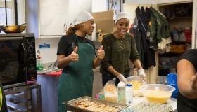 Brixton Soup Kitchen - Feeding The Needy At Christmas