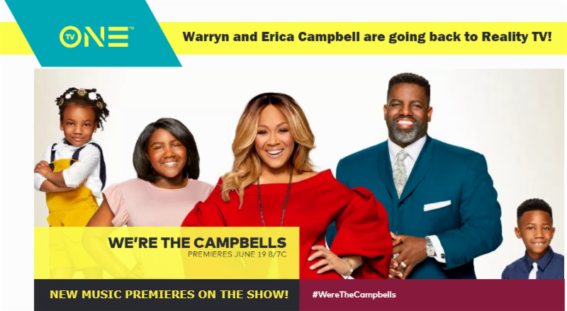 We're The Campbells Erica Campbell New Music