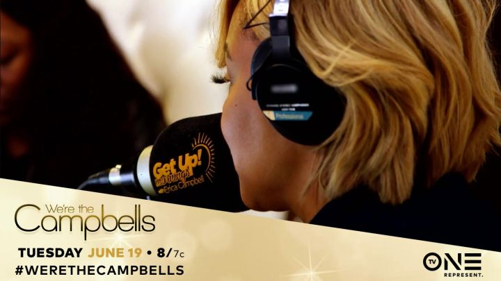 "Erica Campbell On ""Get Up! Mornings With Erica Campbell"""