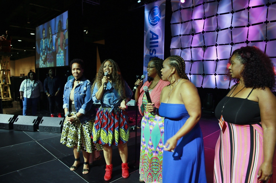 Erica Campbell, Tina Campbell, Campbell Sisters, Family Reunion