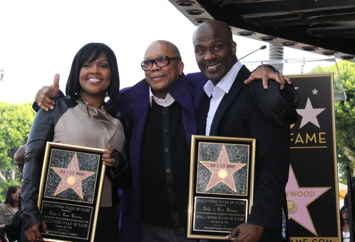 BeBe Winans & CeCe Winans Honored On The Hollywood Walk Of Fame