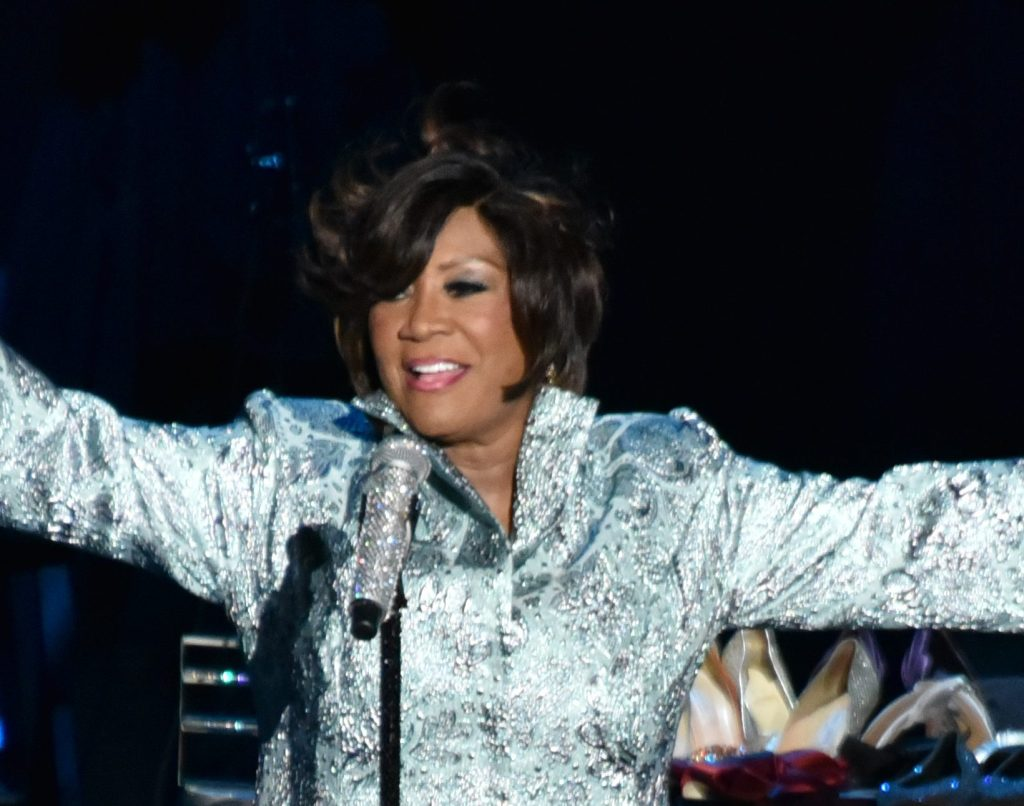 Patti Labelle pays tribute to Aretha Franklin during her concert in Philadelphia