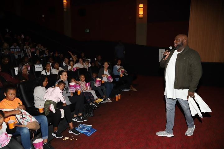 Pastor John Gray Hosts Warner Bros Screening Of 'Smallfoot'