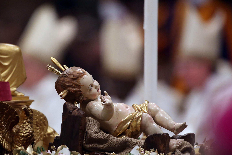 Pope Benedict XVI Celebrates Christmas Night Mass