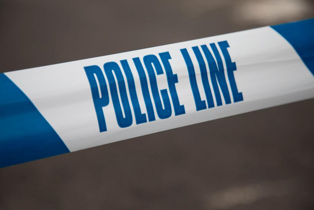 Police Line Tape In London