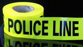 Temporary crime scene barrier