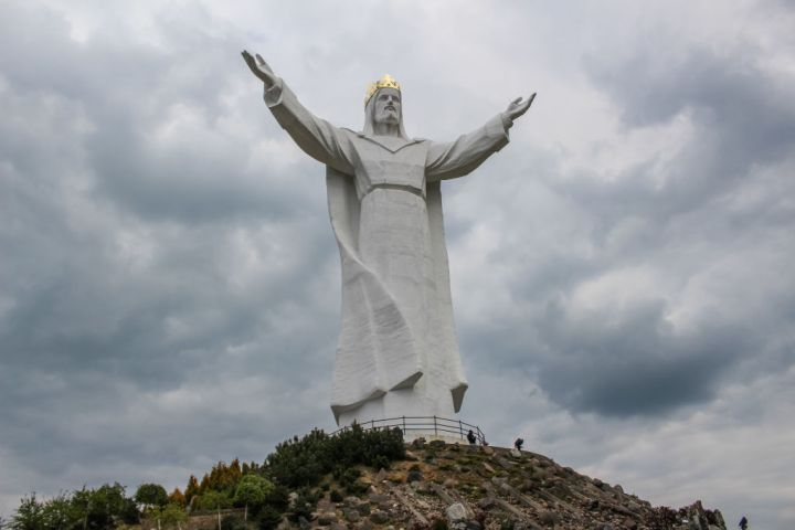 Christ the King statue in Swiebodzin, Poland