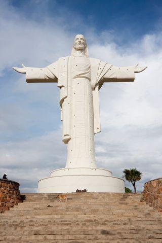 Statue of Cristo de la Concordia, Cochabamba, Bolivia