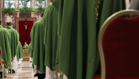 Closing Mass of 'The Protection Of Minors In The Church' meeting in Vatican City