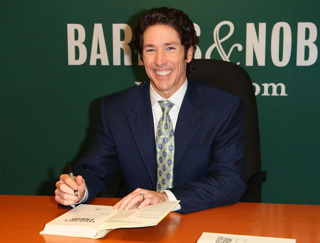 Joel Osteen Signs Copies Of 'Every Day A Friday: How To Be Happier 7 Days A Week'