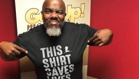 Radio host GRIFF in St. Jude's This Shirt Saves Lives Shirt
