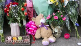 Floral tributes for Tanesha Melbourne-Blake