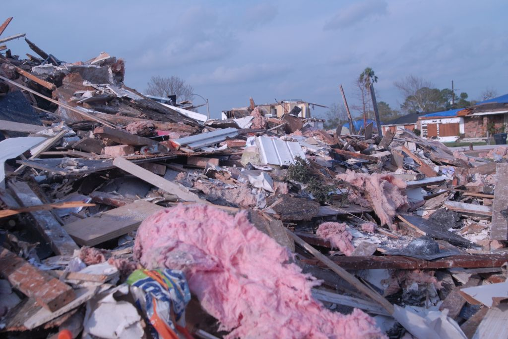 New Orleans East suffers severe damage after a tornado