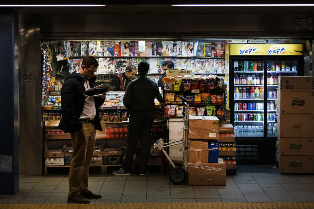 MTA Plans To Replace Newsstands With Vending Machines In New York City Subway Stations