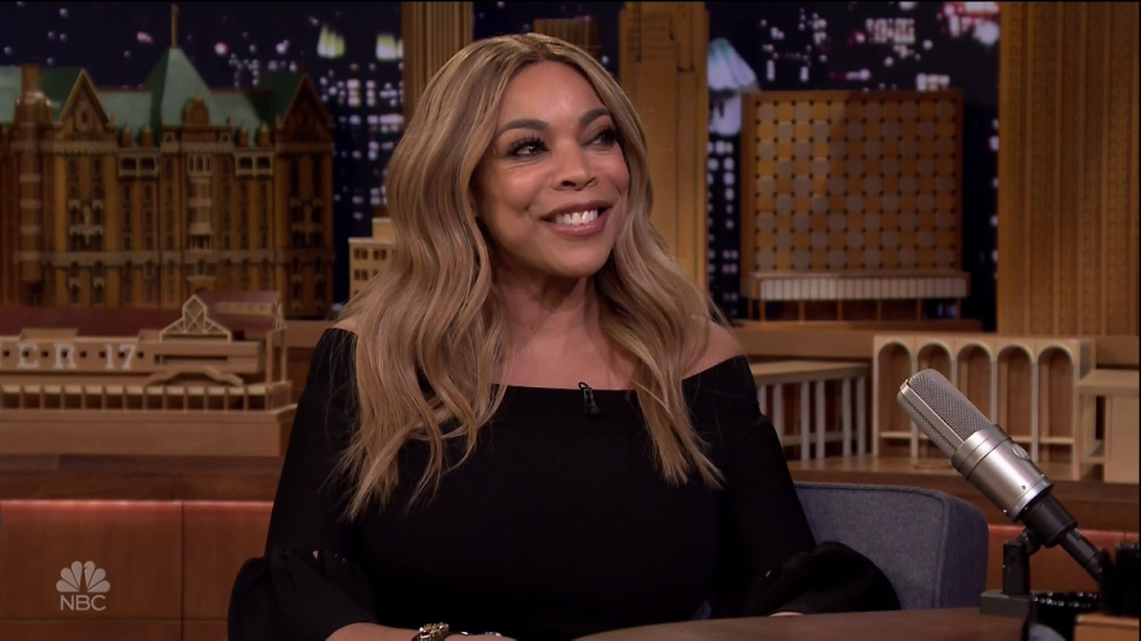Wendy Williams during an appearance on NBC's 'The Tonight Show Starring Jimmy Fallon.'
