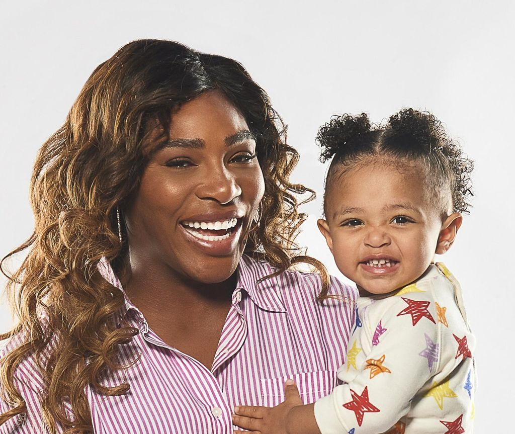 Serena Williams partners with Pampers