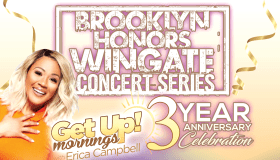 Get Up 3 year anniversary flyer