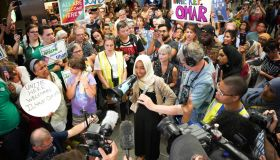 Rep. Ilhan Omar returned to Minnesota to promote Medicare for All.