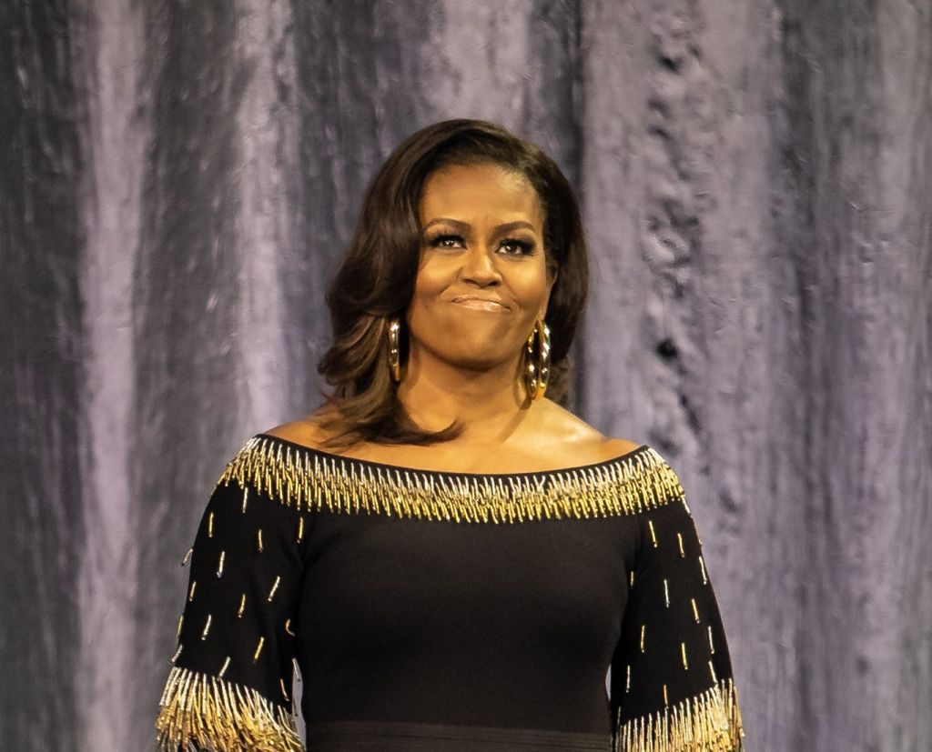 Becoming: An Intimate Conversation with Michelle Obama held at The O2