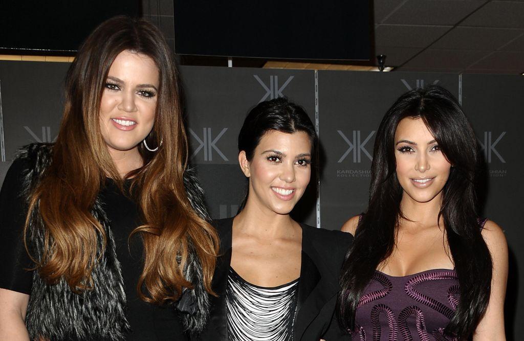 Kardashian Sisters Promote Their New Fashion Line 'Kardashian Kollection' At Sears