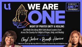 """We Are One Night Of Prayer"""