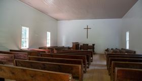 Methodist Church - Cades Cove, Great Smoky Mountains National Park, USA
