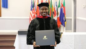 Charles Jenkins Receives Doctorate Degree